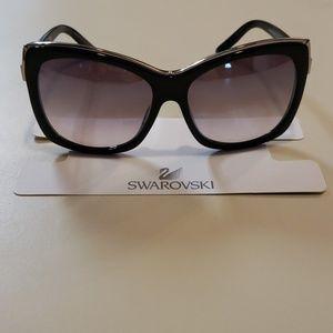 NWT Swarovski womens sunglasses Black
